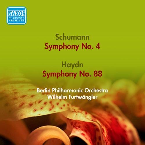 Schumann, R.: Symphony No. 4 / Haydn, J.: Symphony No. 88 (Berlin Philharmonic, Furtwangler) (1951, 1953) by Wilhelm Furtwangler