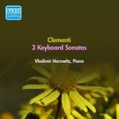 Clementi, M.: Piano Sonatas (Horowitz) (1955) by Vladimir Horowitz