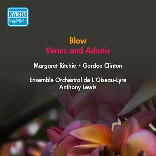 Blow, J.: Venus and Adonis (Ritchie, Clinton, Field-Hyde, A. Lewis) (1953) by Margaret Ritchie