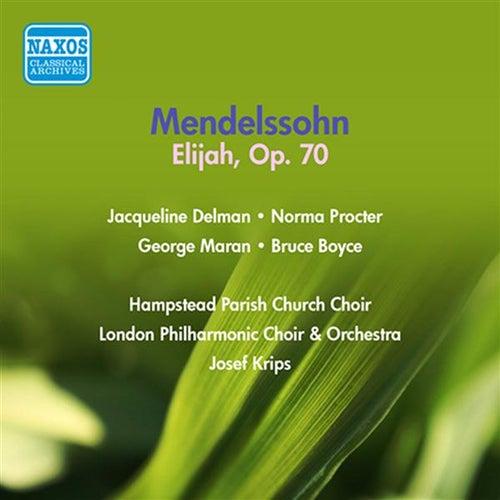 Mendelssohn: Elijah (1954) by Jacqueline Delman
