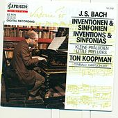 Bach, J.S.: 2 Part Inventions / 3 Part Inventions / 6 Little Preludes by Ton Koopman
