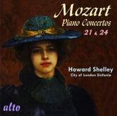 Mozart: Piano Concertos Nos. 21 & 24 by Howard Shelley