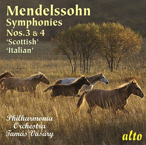 Mendelssohn: Symphonies Nos. 3 & 4 ('Scottish' & 'Italian') by Philharmonia Orchestra