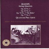 Hadyn: String Quartets by Quatuor Pro Arte