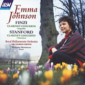 Finzi: Clarinet Concerto; 5 Bagatelles / Stanford: Clarinet Concerto; 3 Intermezzi by Emma Johnson