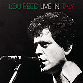 Live In Italy by Lou Reed