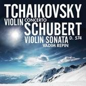 Tchaikovsky: Violin Concerto - Schubert: Violin Sonata, D. 574 by Vadim Repin