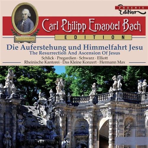 C.P.E. Bach: Die Auferstehung und Himmelfahrt Jesu by Various Artists