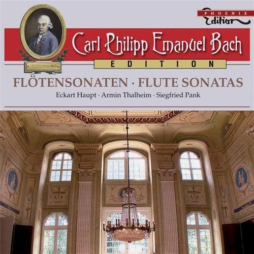 C.P.E. Bach: Flute Sonatas by Eckart Haupt