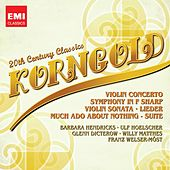 20th Century Classics: Korngold by Various Artists
