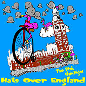 Hats Over England by The Pink Flamingos