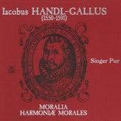 Handl: Moralia / Harmoniae morales, Books 1-3 by Singer Pur