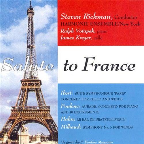 Hahn: Le Bal De Beatrice D'Este / Milhaud: Symphonie De Chambre No. 5 / Ibert: Cello Concerto / Suite Symphonique, 'Paris' / Poulenc: Aubade by Steven Richman