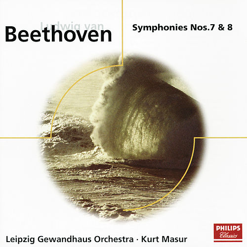 Beethoven: Symphonies Nos.7 & 8 by Gewandhausorchester Leipzig