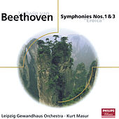 Beethoven: Symphonies Nos.1 & 3 by Gewandhausorchester Leipzig