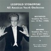 Beethoven: Symphony No. 5 / Brahms: Symphony No. 1 (Stokowski) (1940, 1941) by Leopold Stokowski