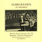 Mozart: Piano Concerto No. 20 / Hindemith: 4 Temperaments (Haskil, Hindemith) (1957) by Clara Haskil