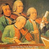 Bach, J.S.: Concertos for 1, 2, and 3 Violins by Various Artists