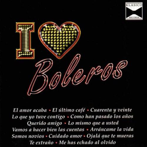 I Love Boleros by Various Artists