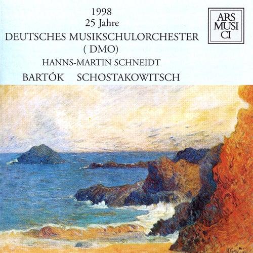 Shostakovich: Chamber Symphony - Bartok: Divertimento by Hanns-Martin Schneidt