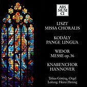 Liszt: Missa choralis - Kodaly: Pange lingua - Widor: Mass by Various Artists