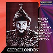 George London, Recitals 1951-1955 by George London