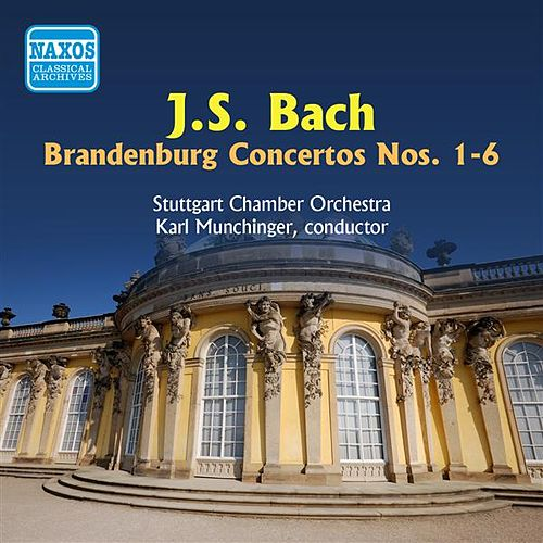 Bach, J.S.: Brandenburg Concertos Nos. 1-6 (Munchinger) (1950) by Karl Munchinger