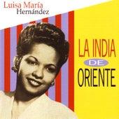 Luisa María Hernández: La India de Oriente (con el Trío la Rosa) by La India De Oriente