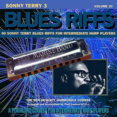 Sonny Terry Blues Riffs 3, Vol. 20 by Ben Hewlett