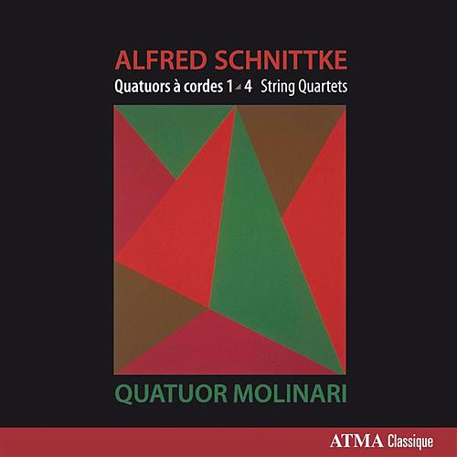 Schnittke: String Quartets Nos. 1-4 by Molinari Quartet