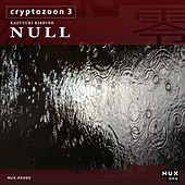 Cryptozoon 3 by K.K. Null