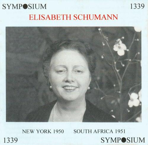 Elisabeth Schumann by Elisabeth Schumann