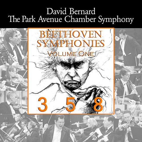 Beethoven: Symphonies, Vol. 1 by David Bernard