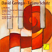 Brahms: Cello Sonatas Nos. 1 & 2 by David Geringas