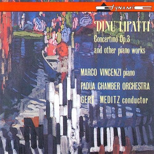 Lipatti: Piano Concertino in the Classical Style / Piano Sonatina / Nocturnes by Marco Vincenzi