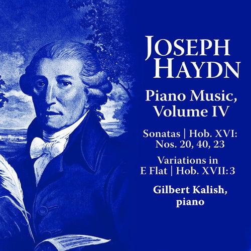 Joseph Haydn: Piano Music Volume IV by Gilbert Kalish