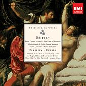 British Composers - Britten, Berkeley & Rubbra by Various Artists