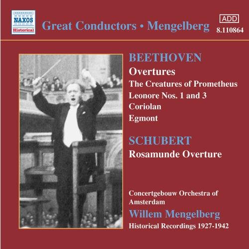 Beethoven / Schubert: Overtures (Mengelberg) (1927-1942) by Willem Mengelberg
