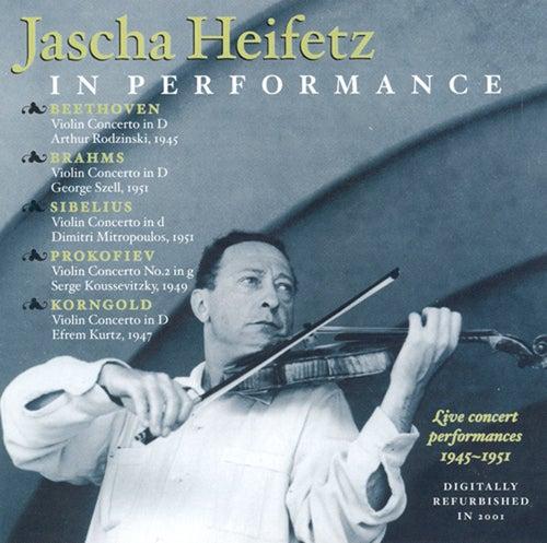 Beethoven / Brahms / Sibelius / Prokofiev / Korngold: Violin Concertos (Heifetz) (1945-1951) by Jascha Heifetz