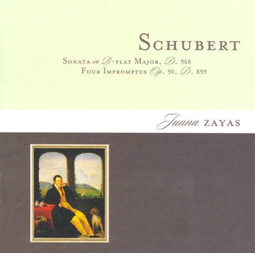 Schubert: Piano Sonata No. 21 / 4 Impromptus, Op. 09 by Juana Zayas