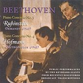 Beethoven, L. Van: Piano Concerto Nos. 3 (Rubinstein, Ormandy) (1943) / Piano Concerto No. 4 (Hofmann, Mitropoulos) (1943) by Various Artists