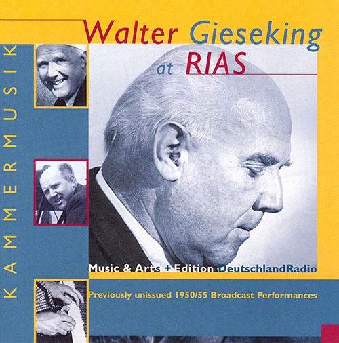 Piano Music - Mozart, W.A. / Mendelssohn / Beethoven / Debussy / Ravel / Schubert, F. / Schumann, R. / Brahms / Scriabin (Gieseking) (1950, 1955) by Walter Gieseking