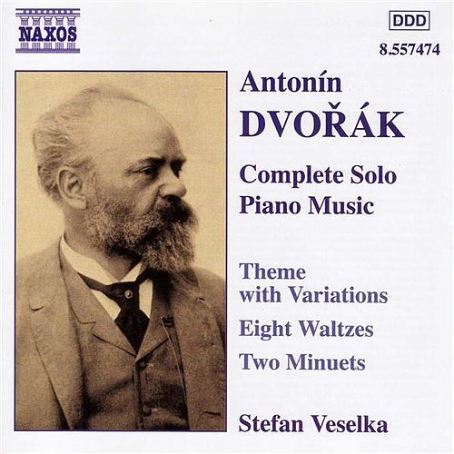 Dvorak: Theme With Variations, Op. 36 / Waltzes, Op. 54 by Stefan Veselka