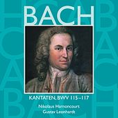 Bach, JS : Sacred Cantatas BWV Nos 115 - 117 by Various Artists
