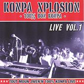 Konpa explosion, vol. 1 (Live) by Various Artists