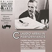 Claudio Arrau in Performance by Claudio Arrau