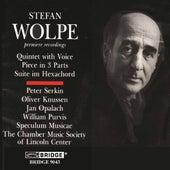 Music of Stefan Wolpe, Vol. 1: Suite im Hexachord by Various Artists