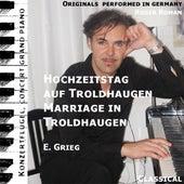 Wedding Day In Troldhaugen , Hochzeitstag Auf Troldhaugen , Opus 65 No. 6 (feat. Roger Roman) - Single by Edvard Grieg