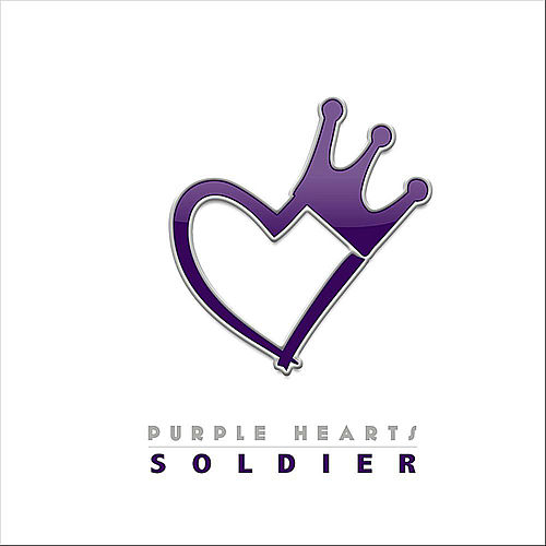 Soldier by Purple Hearts