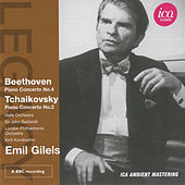 Beethoven: Piano Concerto No. 4 - Tchaikovsky: Piano Concerto No. 2 by Emil Gilels